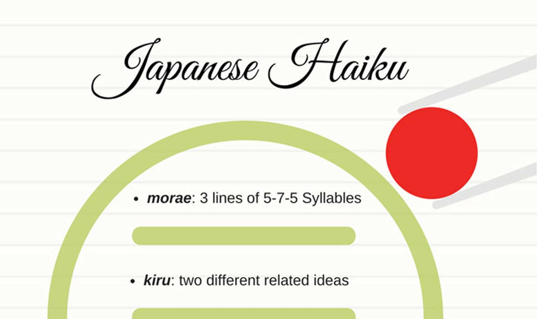 How to write a haiku in japanese