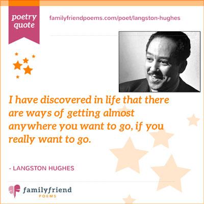 Poems by Langston Hughes, Poet