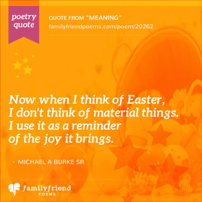 The Meaning Behind Easter, Meaning