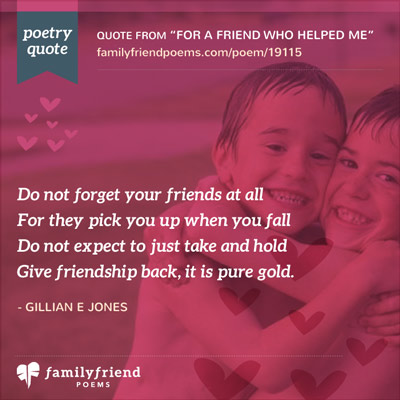 Poems on Friendship and Love