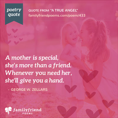 Poem From Son About All A Mother Does, A True Angel