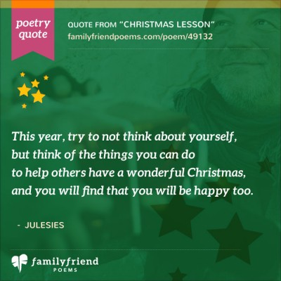 Quote About Helping Others At Christmas