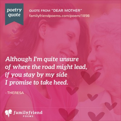 Dear Mom From Daughter Poem, Dear Mother