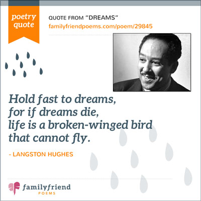 Quote From Dreams by Langston Hughes