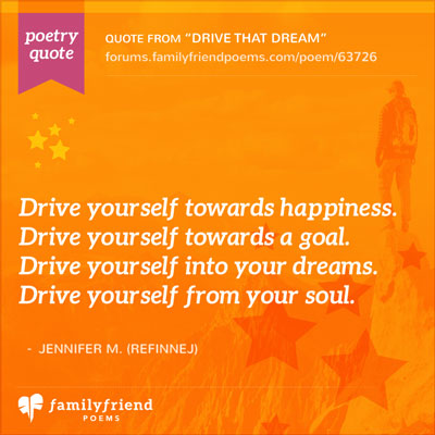 Drive Yourself Towards Happiness