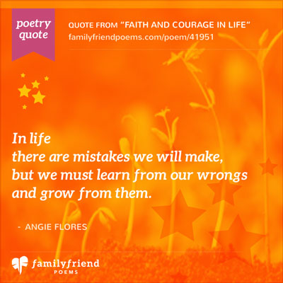 Poetry Quote learning from mistakes