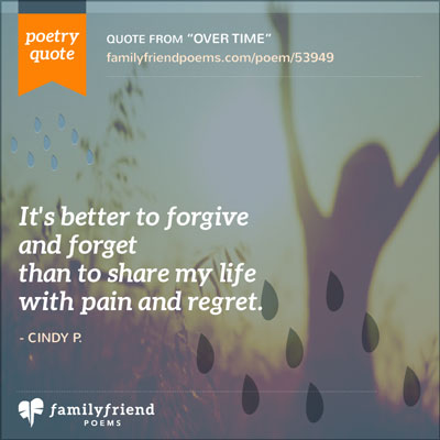Forgive and forget essay