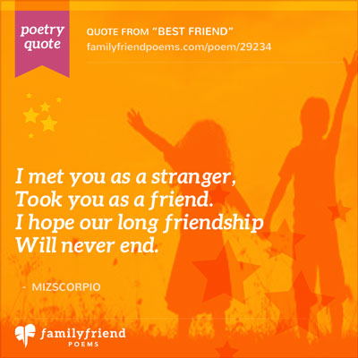 Poems about Childhood Friendships