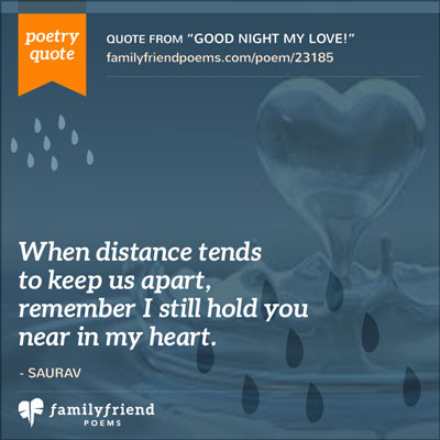 Long Distance Love Poems