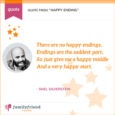 Happy Ending By Shel Silverstein