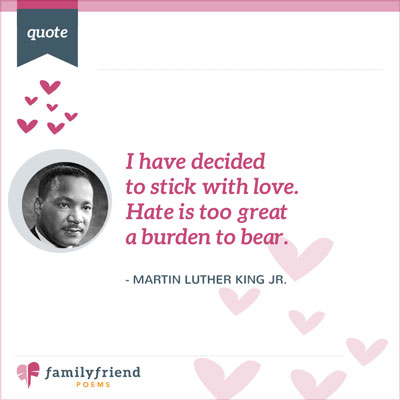 Hate Is A Burden Quote