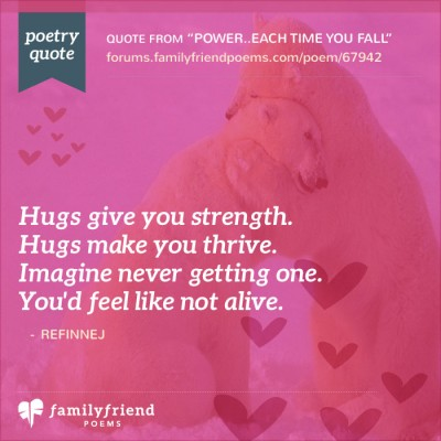 Hugs Give You Strength
