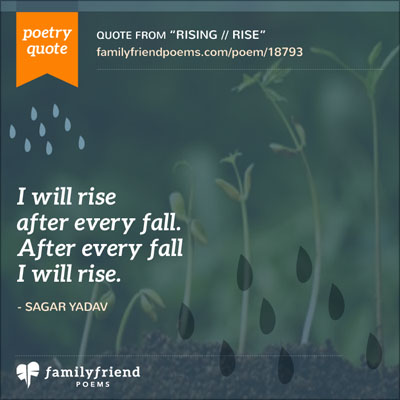 I Will Rise After Every Fall.