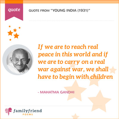 If We Are To Reach Real Peace