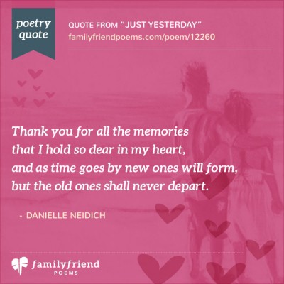 Missing You Poems about Friends