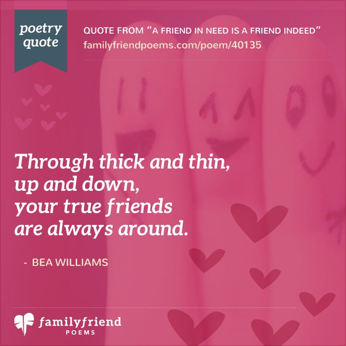 a friend in need is a friend indeed essays