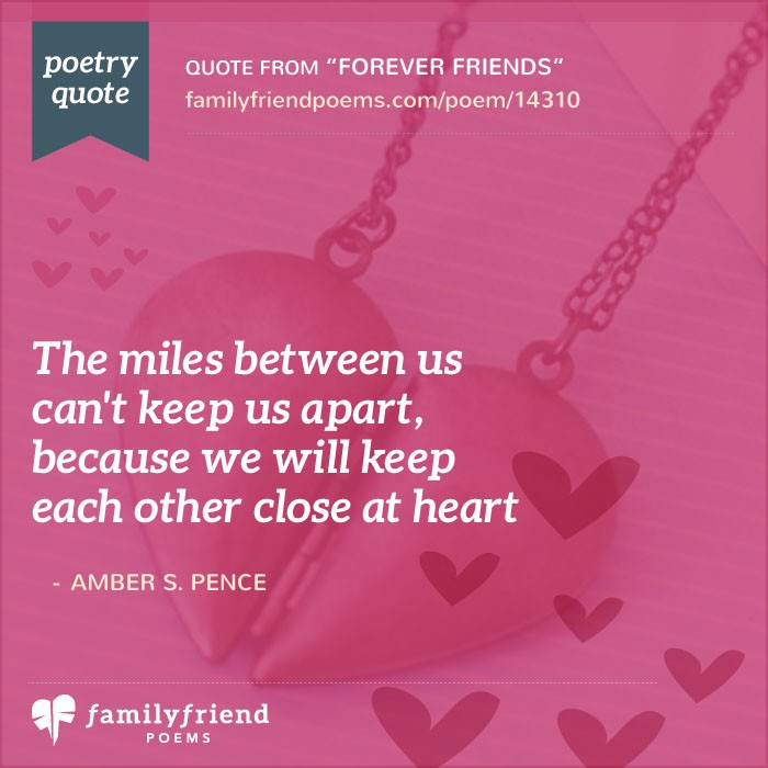 Rhyming Friendship Poem, Forever Friends