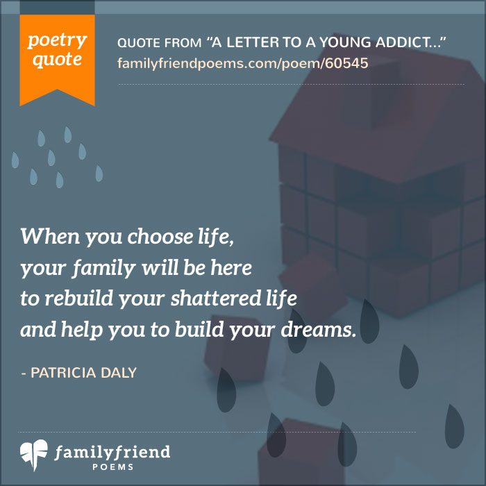 83 Poems from Family Members of Addicts Painful Poems on