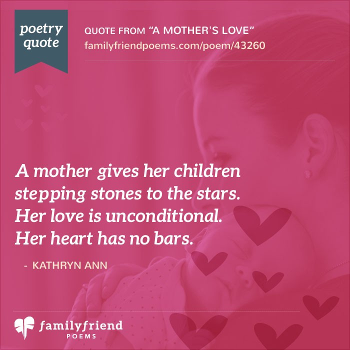 An analysis of a mothers love