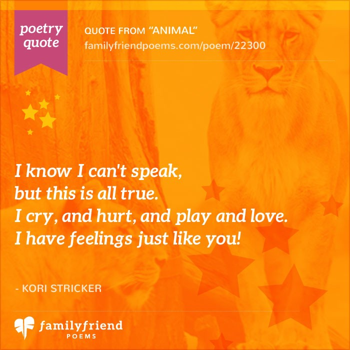 33 Animal Poems - Poems about Magnificent Wild Animals