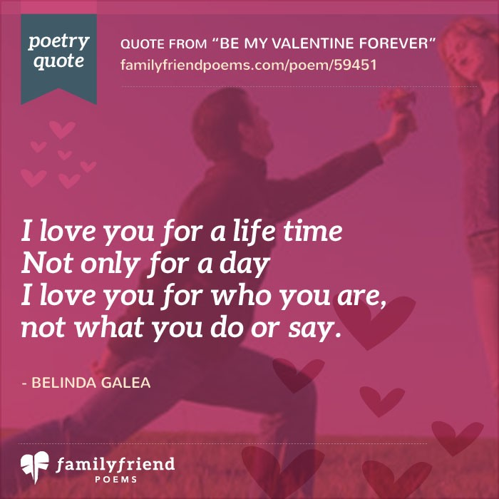Be Mine Forever, Be My Valentine, Short Valentine Poem