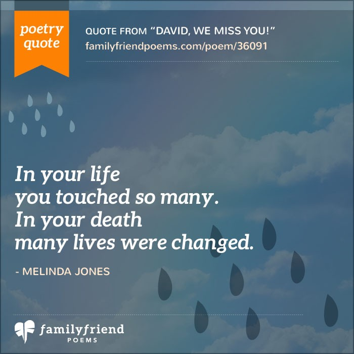 Loss Of Life Quotes Endearing Wife Death Poems  Sympathy Poems For The Loss Of A Wife