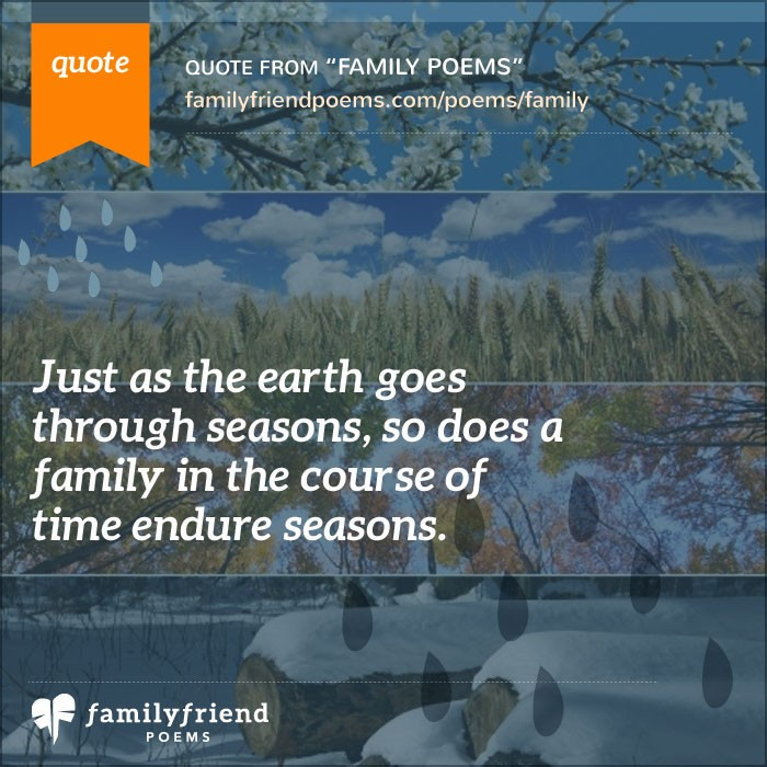 Quotes On The Importance Of Time: Poems About Family
