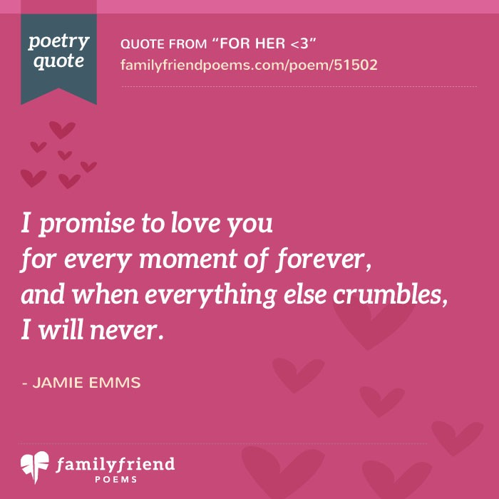 girlfriend poems love poems for her