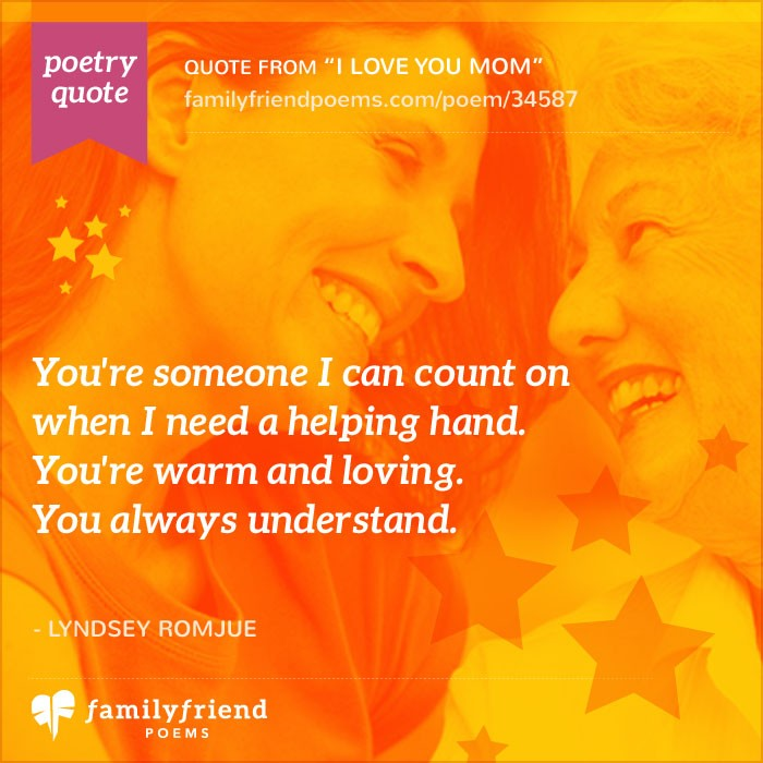 Birthday Quotes For Mom: Poem For Mom's Birthday, I Love You Mom