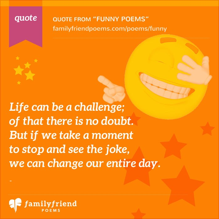 Funny Poems - Smile & Laugh With Poetry