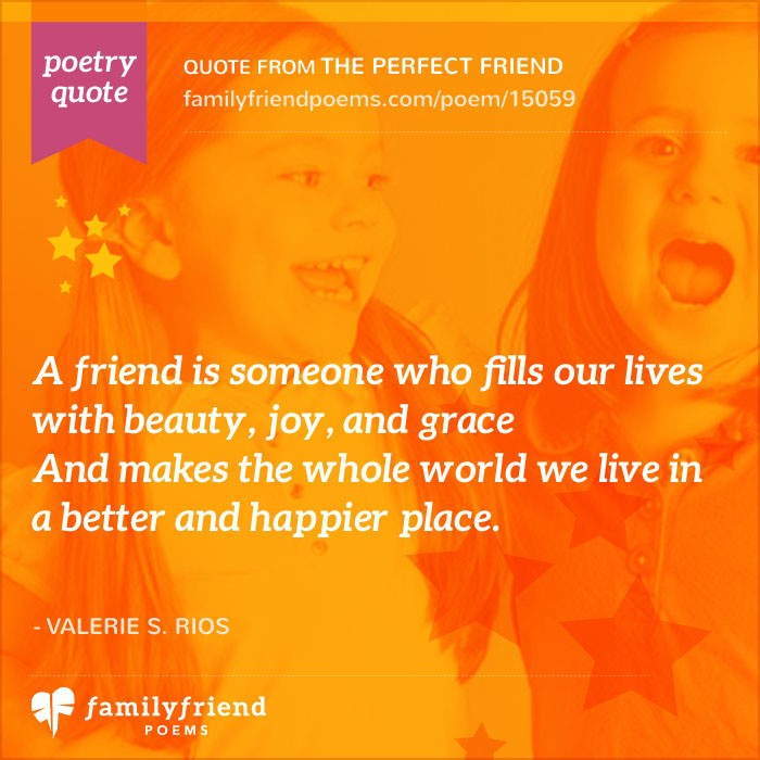 Quote To Friends About Friendship Classy Inspirational Friendship Poems  Touching Poems About Friendship