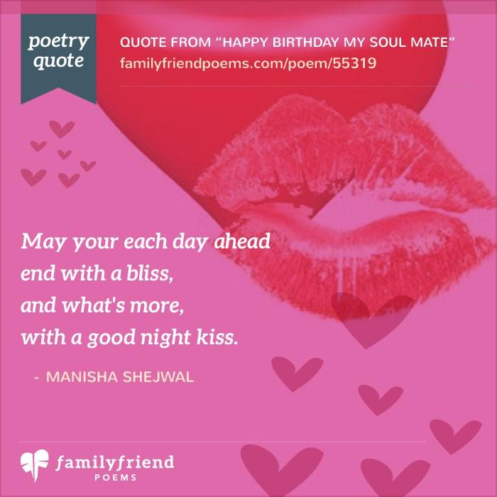 Happy Birthday My Soul Mate, Birthday Poem