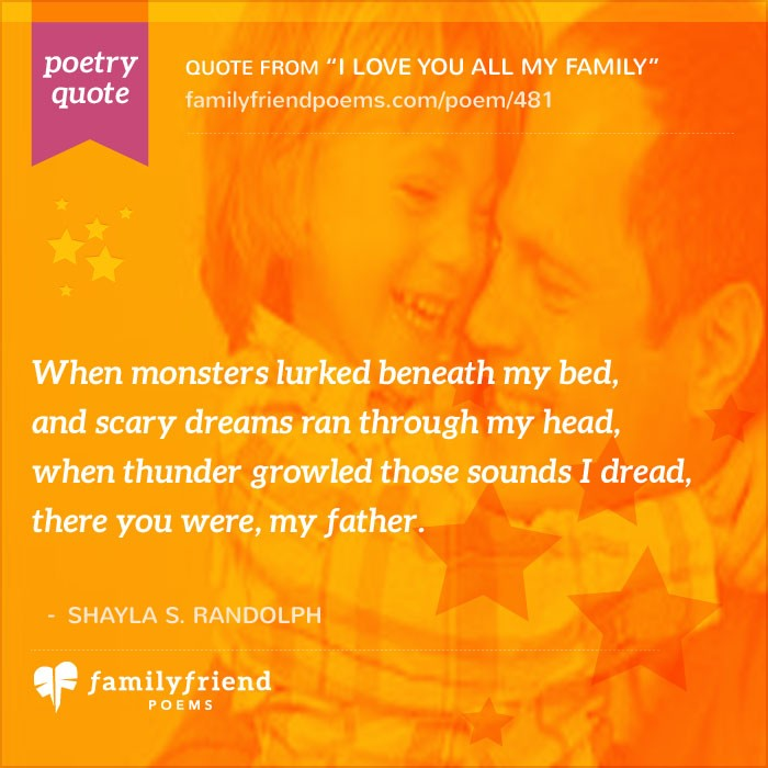 I Love My Family And Friends Poems Poem About Family Memb...