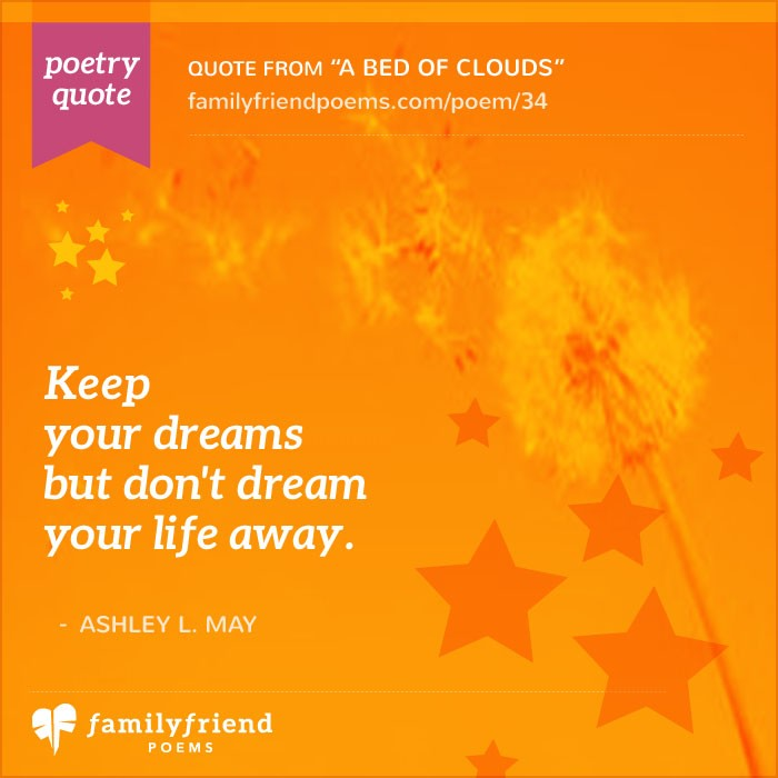 Life And Dreams A Bed Of Clouds Dream Poem