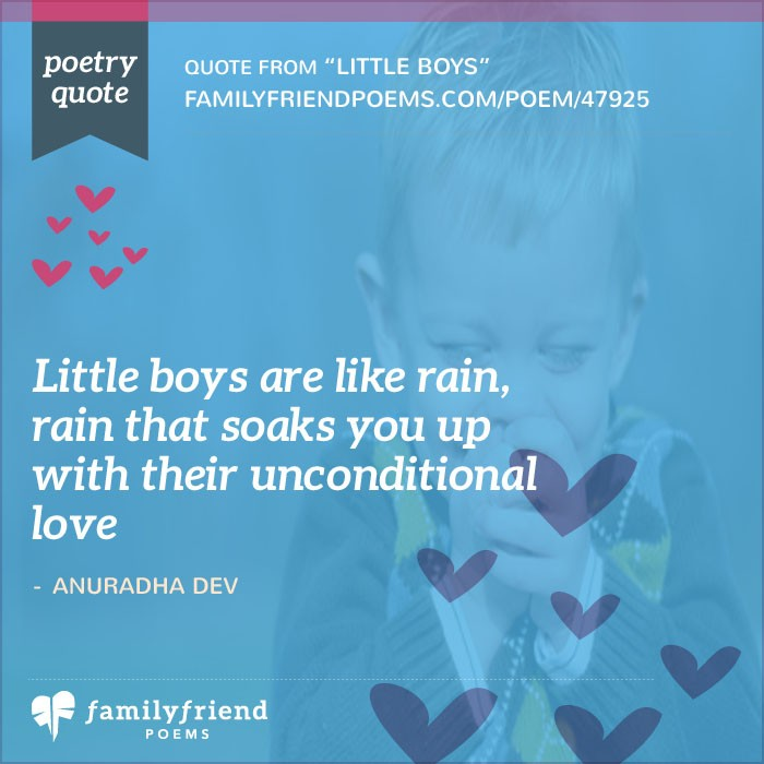 Little Boys, Birthday Poem