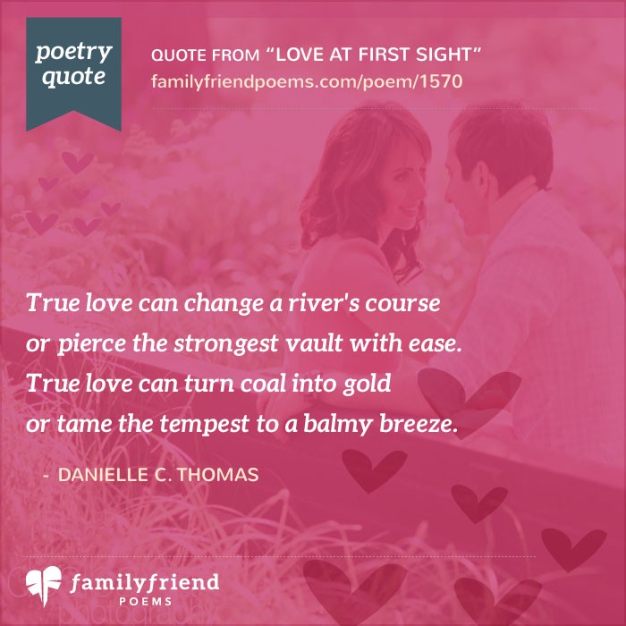 Quotes About Love At First Site: Love At First Sight, Romantic Poem