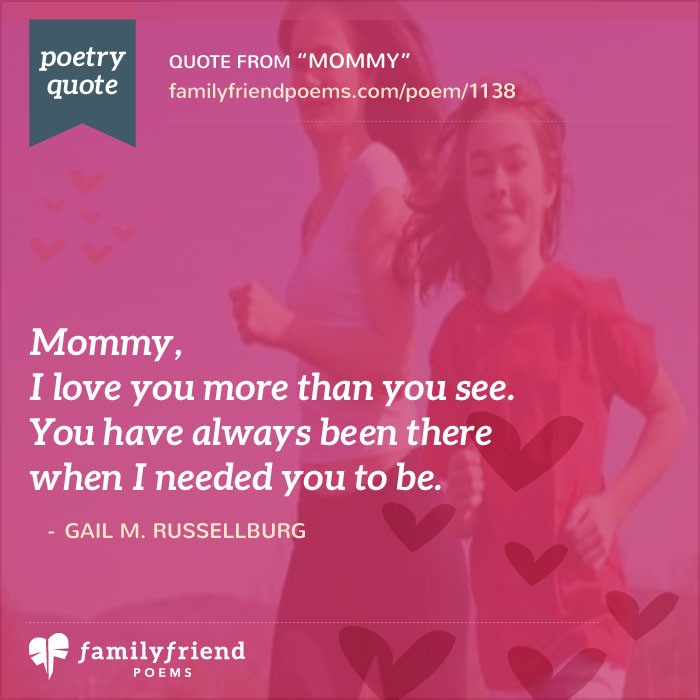 62 mothers day poems heartfelt poems for mom on mothers day