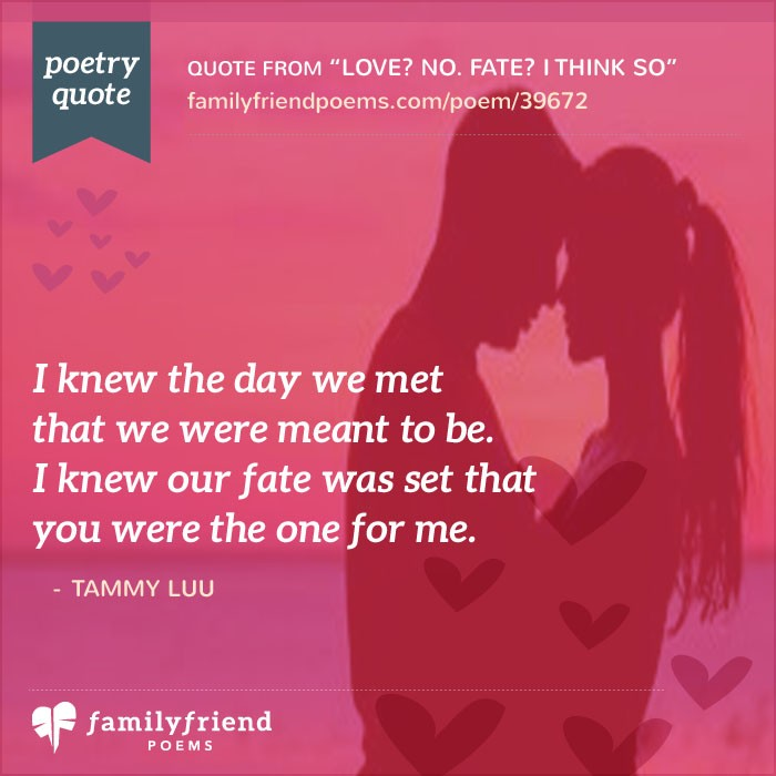 Love No Fate I Think So Teen Crush Poem