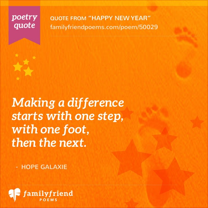 New Year Quotes For Life: Inspirational Poems For New Years
