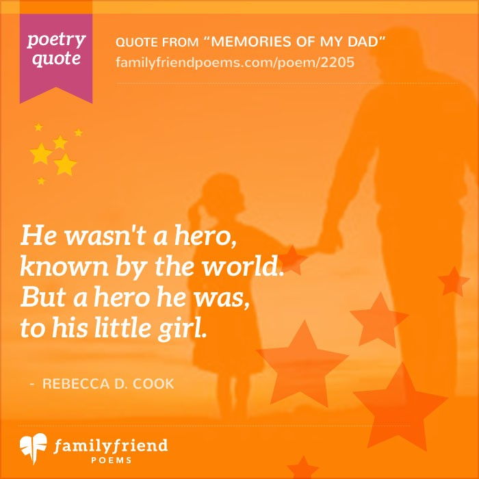 My Dad Dads And Father In Memory Of: Poem About Dad Being A Hero, Memories Of My Dad