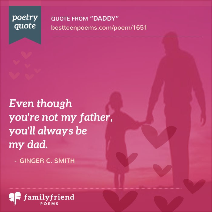 fathers day poem for stepdad daddy