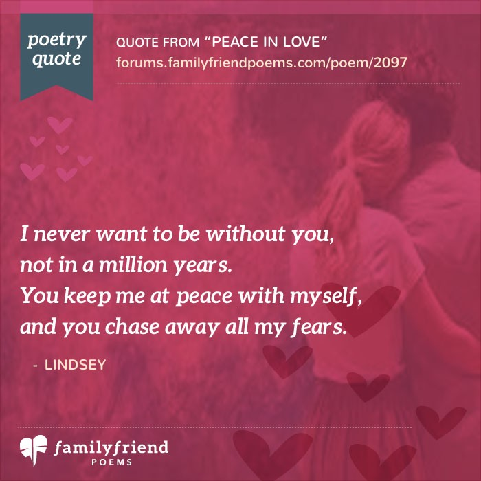 I Love You Babe Peace In Poem