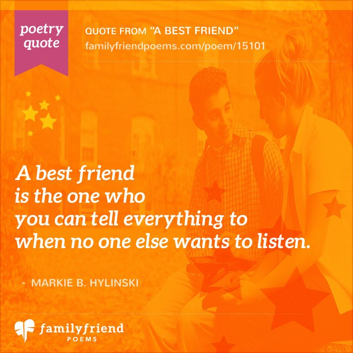 What Is A Friend A Best Friend Best Friend Poem