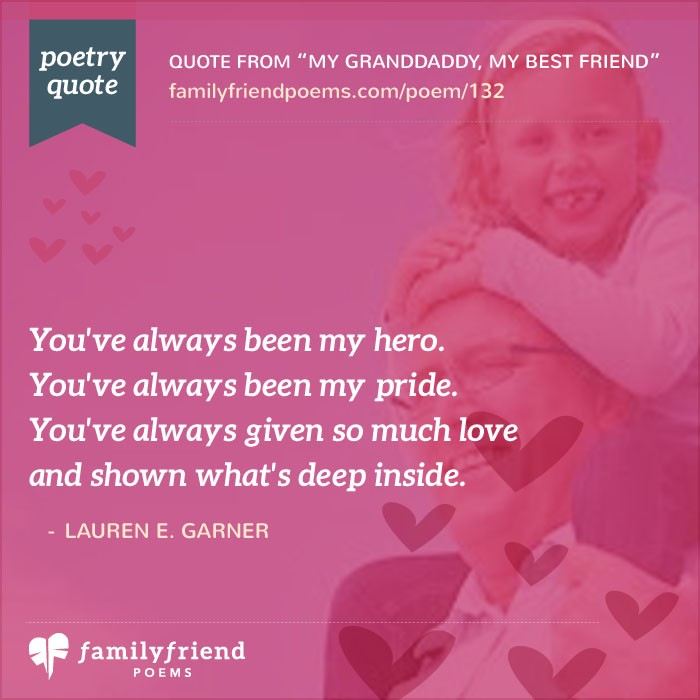 Family Friend Poems