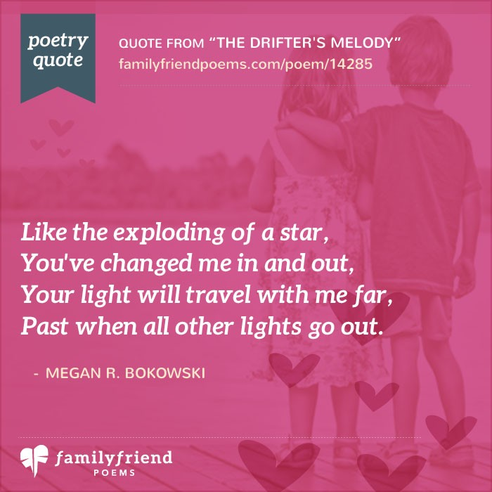 Poem For Saying Goodbye And Best Wishes, The Drifter's Melody