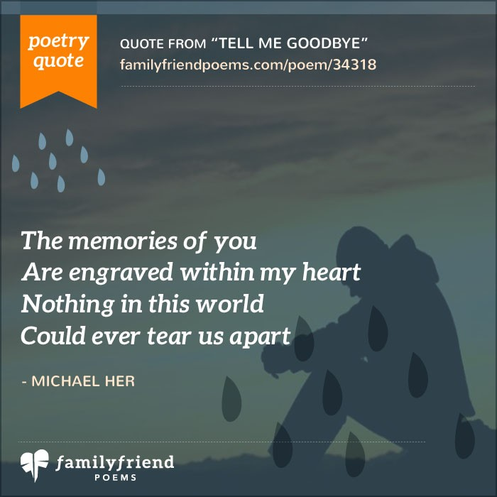 i love you but goodbye poems