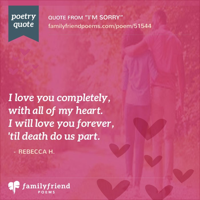 I M Sorry Love Quotes For Her Classy Poem About Feeling Incomplete Without Significant Other I'm Sorry
