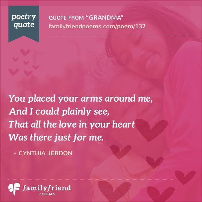 Poem Remembering A Grandmothers Love, Grandma