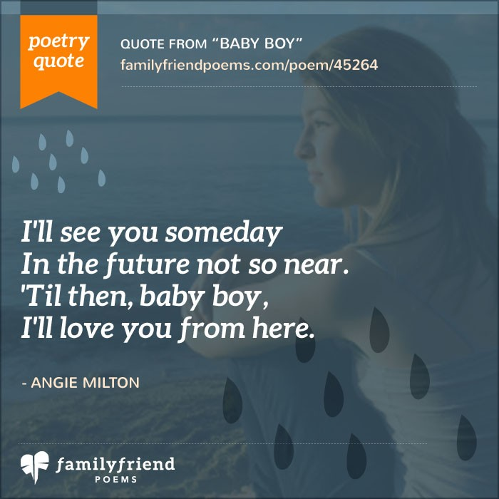 Poem Saying Goodbye To Unborn Son Baby Boy