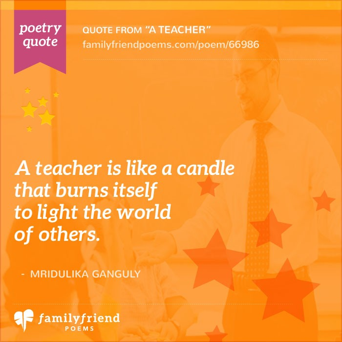 Poem Sharing The Power Of A Teacher A Teacher